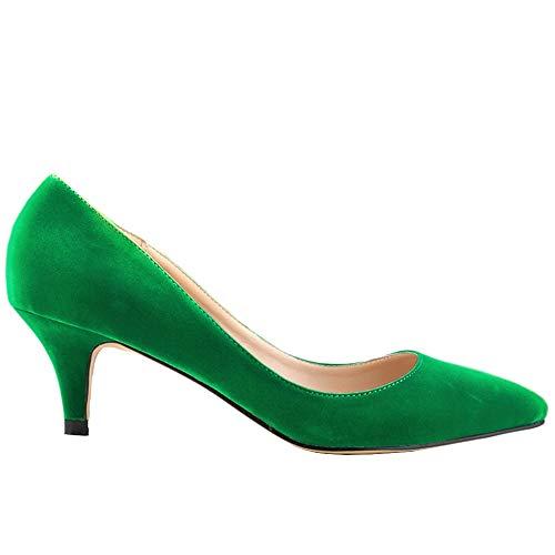Renly Ni678-1VE, Damen Standard & Latein, Grün - grün - Größe: 36