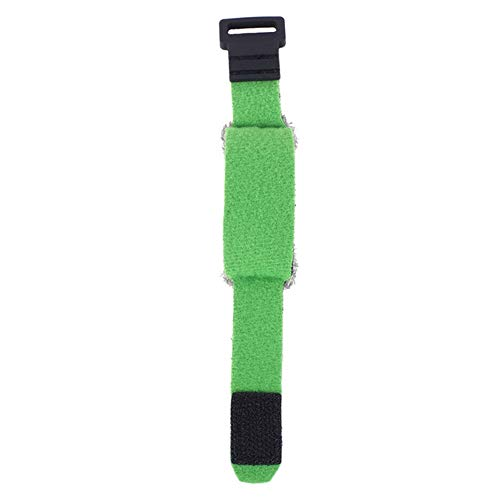 Fretboard Muting Wraps for Acoustic Classic Guitars Bass Adjustable Tension Guitar Fret Wraps String Mute Mute Dampeners Strap Muter(Short-Green)