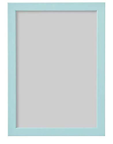 unknow IKEA FISKBO Bilderrahmen, hellblau, 21x30cm DIN A4 Rahmen Dekoration Wohnen