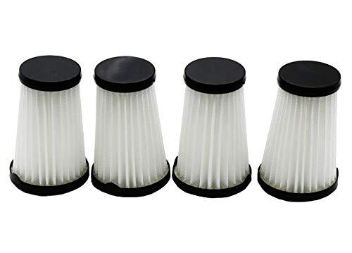 Green Label Empaque de 4 filtros para Aspiradoras AEG CX7-2/Electrolux Ergorapido (Reemplaza a AEG AEF150, Electrolux EF150)