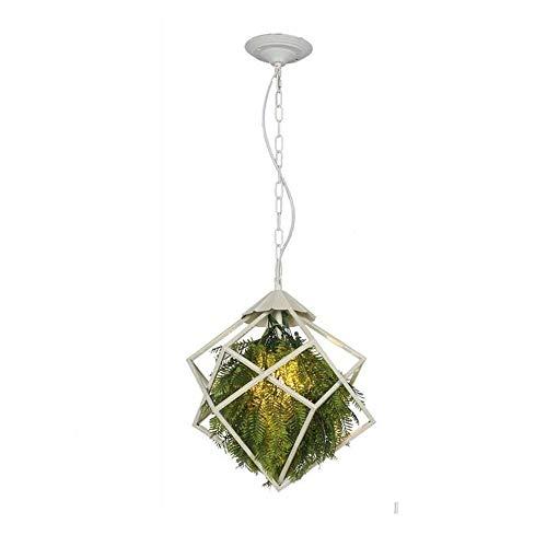 Plafondlamp, hanglamp, moderne hanglamp, hanglamp, kunstplanten, decoratie, spin, creatieve persoonlijkheid, jungle, ijzer