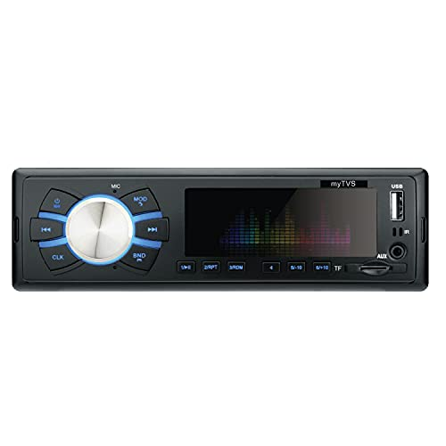 myTVS TMP-55 Single Din MP3 Car Media Player with 1 Year Warranty