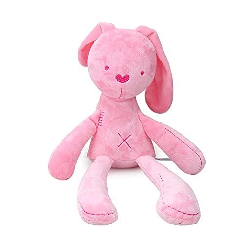 Conejo de peluche, 20 cm, lindo peluche para niñas, bebé cojín de peluche, conejos de dibujos animados, conejos de peluche con orejas largas, juguete de animales para niños