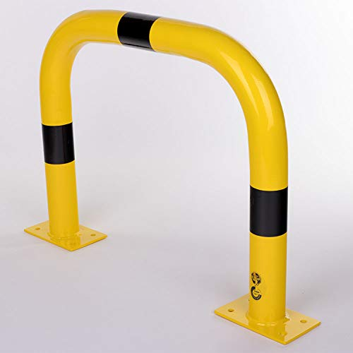 Bolardo de protección de seguridad Altura 600 mm x longitud 750 mm