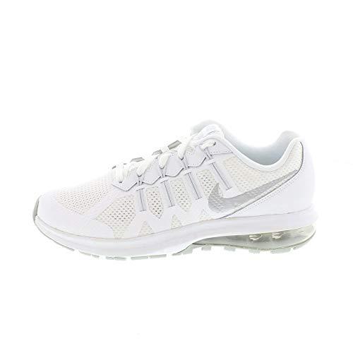 Nike Air Max Dynasty (GS), Scarpe da Running Bambino, Bianco, Argento Metallizzato, Platino (Pure Platinum), 37.5 EU