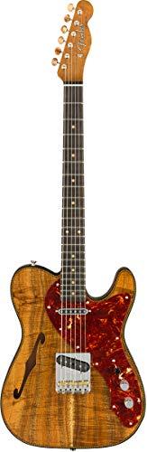 Fender Artisan Koa Thinline - Telecaster, color beige