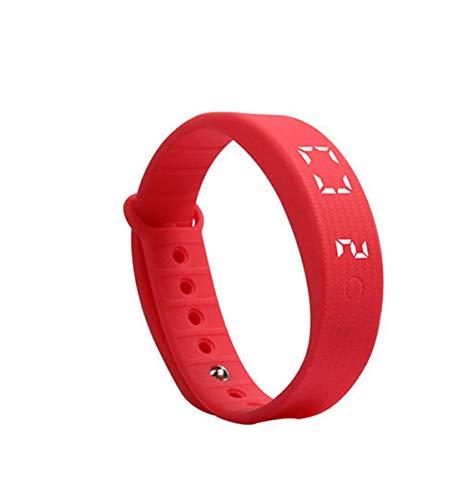 Tedbear Festival Gift Reloj inteligente Alarma de vibración silenciosa Podómetro 3D Contador de calorías Monitoreo del sueño for iOS/Android