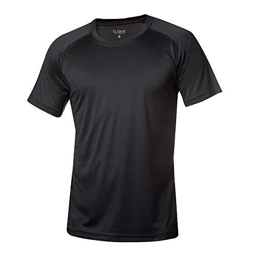 Clique - Funktions T-Shirt für Herren 'Active T' / schwarz (99), 3XL