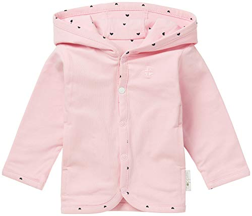 Noppies Baby-Mädchen G Cardigan Jrsy REV Novi Strickjacke, Rosa (Light Rose C092), 56