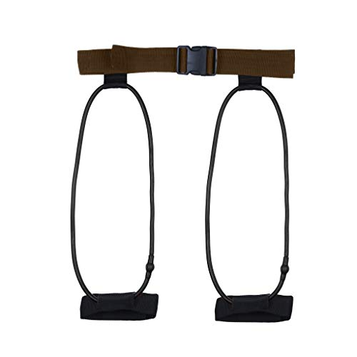 N/X Akaslife Yoga Pull Band Stretching Belt Exercise Resistance Booty Band for Legs and Butt Yoga Tension Belt Body Training Stretching Belt