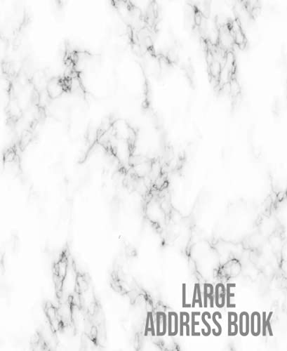 Tile Marble Large Address Book: Record Name , Birthday ,Telephone Number ,Email and Address Book With Alphabetical Tabs & Notes For Seniors Large ... Ceramic Tiles Nest Grey and Marble, Band 8)