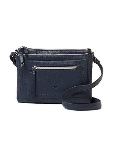 TOM TAILOR Umhängetasche Damen Becky, Blau, 23x17x3 cm,, TOM TAILOR Taschen für Damen TOM TAILOR Handtaschen, Taschen für Damen, klein