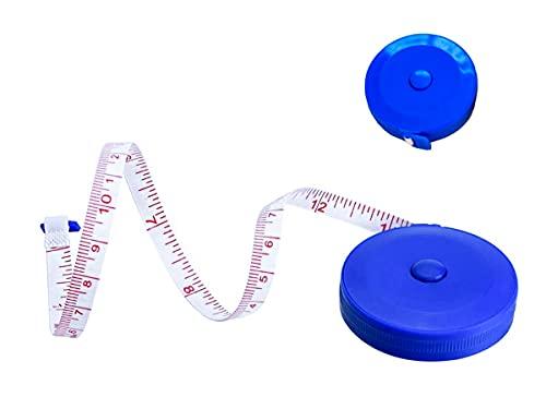 Cinta métrica de 150 cm, medida del cuerpo, cinta suave de 7 mm, para coser y medir la cintura, caderas, pecho, brazos