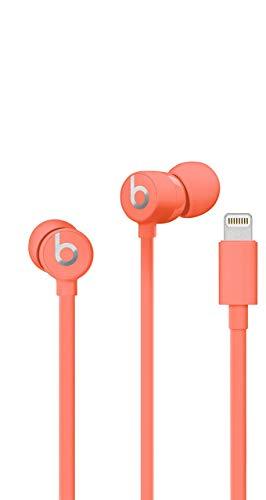 Beats urBeats3 Earphones with Lightning Connector – Coral (Renewed)