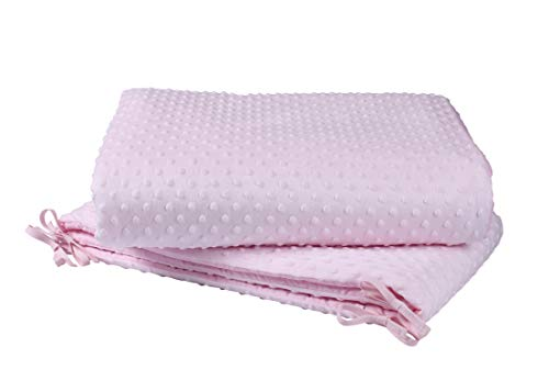Bohrmulden-Kinderbett/Wiege Quilt & Bumper Betten Set–Pink
