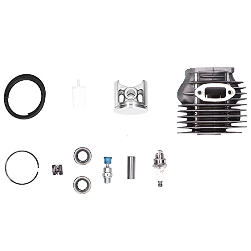 Kit de cilindro de pistón de motor Kit de repuesto de pistón de motor Kit de junta de aleación de aluminio de alto silicio para motosierra Husqvarna 261/262 / 262XP 503/54/11/72