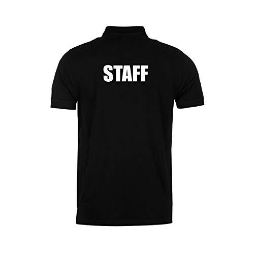 Workwear World Poloshirt, bestickt und bedruckt Gr. XXL, Schwarz