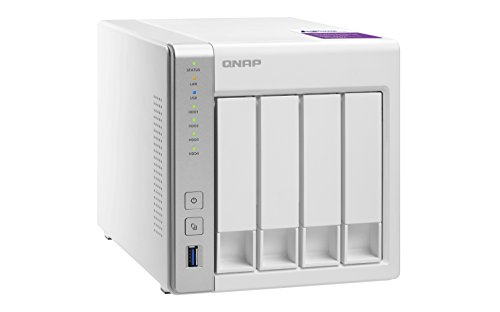 QNAP TS-431P 16TB 4 Bay NAS-Lösung   Installiert mit 4 x 4TB Western Digital Red-Laufwerken (GDPR konform)
