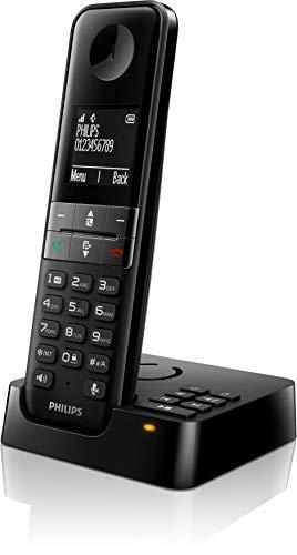 Philips D4751B/01 DECT Schnurlostelefon mit Anrufbeantworter