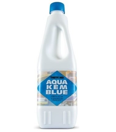 Thetford Liquide Aqua KEM - Bouteille de 2 litres dégivrante pour réservoir de camping-car, toilettes, chimique, ACque, noir, marque