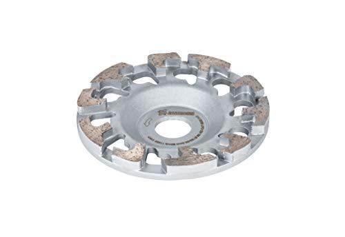 AMBOSS Werkzeuge - Hochwertiger DST 26P Diamant Schleiftopf - Ø 130 mm x 25 mm - Für Altbeton/Farben auf Beton und Epoxidharz auf hartem Untergrund - Schleifteller aus Premium-Qualität