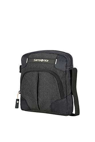 Samsonite Rewind Crossover Bolso Bandolera, 23 cm, 4,5 L,, Color Negro