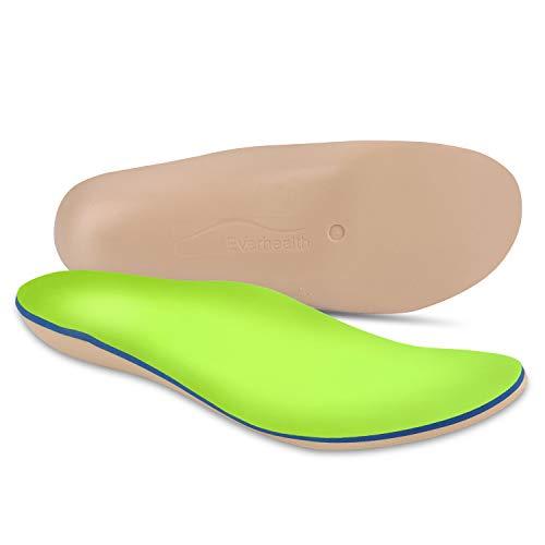 Everhealth Orthopädische Einlegesohlen & Diabetische Einlagen Schuheinlagen mit Bakterien-Tötung Tech, PORON für Stoßdämpfung, Komfort Arch Unterstützung...
