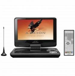Axxion ADVP-207 tragbarer DVD-Player mit DVB-T, 22,5 cm (9