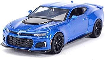 MFWJ 01.24 Chevrolet 2017 Camaro ZL1 Hornet Simulation Legierung Auto-Modell Sport Auto-Modell