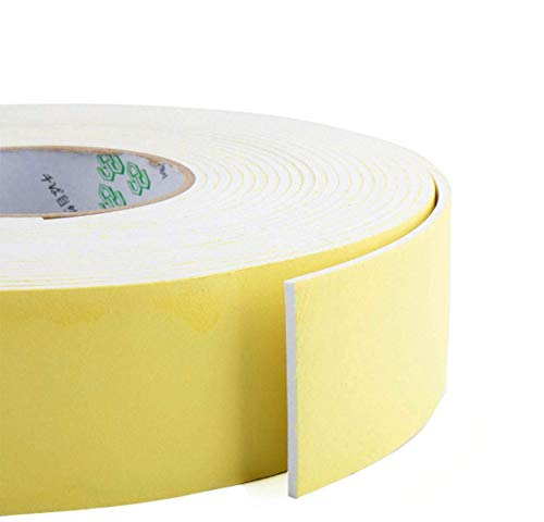 Foam Insulation Tape,Weather Stripping Door Seal Strip for Doors and Windows,Sliding Doors,Pipes,HVAC,Air Conditioning,Seal,Soundproofing,Craft Tape