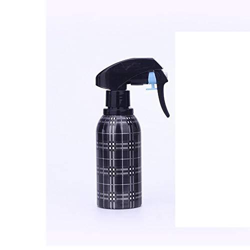 QuRRong Vaporisateur Bouteille de pulvérisation en Plastique Haircut Mist Sprayer Salon de Coiffure Nettoyage Jardinage 3 pièces pour Le Nettoyage de la Cuisine (Color : Black, Size : One Size)
