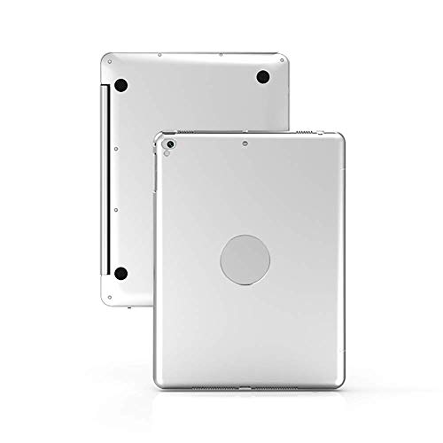 Bluetooth-toetsenbord, draadloos toetsenbord met 2,4 GHz toetsenbord, bereik tot 10 m, voor IPad, iPad Pro, Office, Silver