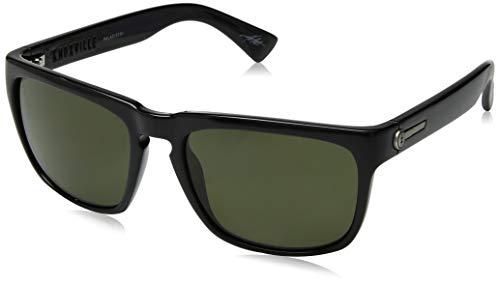 Electric Visual Knoxville Polarisierte Sonnenbrille, Schwarz - schwarz glänzend - Größe: One Size
