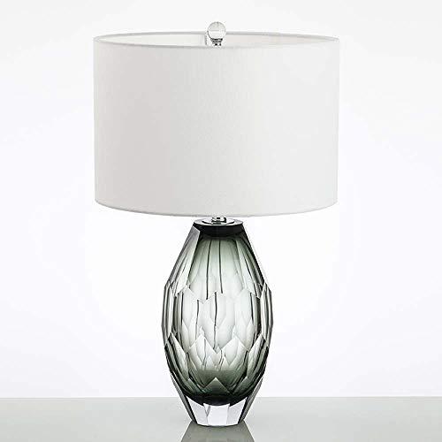DKee Lámparas de mesa Italiana Post-moderna De Vidrio Poligonal Cristal Diseñador Minimalista Modelo De Casa Habitación Creativa Salón De La Lámpara D40 * H65CM