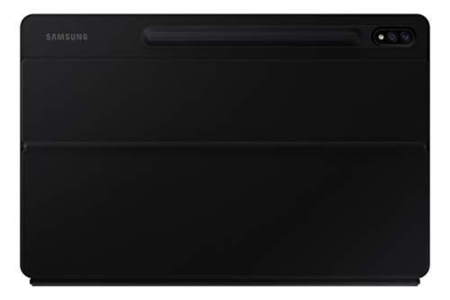 SAMSUNG Book Cover Keyboard für das Galaxy Tab S7+ | Tab S7+ 5G EF-DT970BBGGDE Black