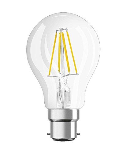 Preisvergleich Produktbild Osram LED Retrofit Classic A Dim Lampe,  Sockel: B22d,  Warm White,  2700 K,  7,  50 W,  Ersatz für 60-W-Glühbirne,  6er-Pack