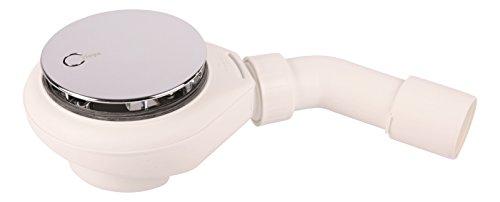 Sanitop-Wingenroth 22136 8 Viega Tempoplex Ablaufgarnitur für superflache Brausewannen Dusche Wanne NEU, 90 mm Ablaufloch
