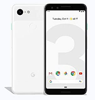Google Pixel 3-64GB, 4GB RAM, 4G LTE, Clearly White