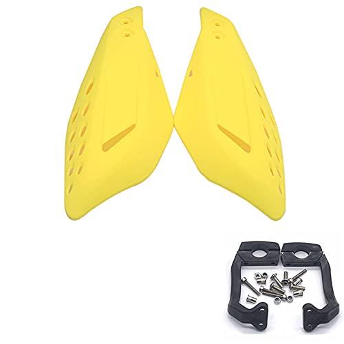1pair Motorycle Mano Guardia Manija Protector Escudo Scooter Abarcadero Manillar Manual de Manillar Equipo de protección Protector Embrague Freno palancas (Color : 7)