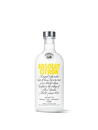 Absolut Citron Vodka, 700ml