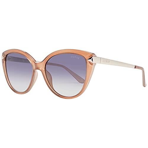 Guess gafas de sol GU7658 42B de humo Naranja tamaño de 56 mm de las Mujeres