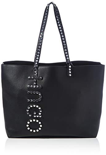 HUGO Damen Chelsea R Shopper, Black2, Normal