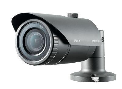 SS359 - SAMSUNG SNO-L6083R 2MP HD CCTV CÁMARA BULLET DÍA Y NOCHE ICR 2,8~12 mm VARIOS ACCESORIOS H, 264, MJPEG POE IR 20 m IP66 IMPERMEABLE 0, 3LUX