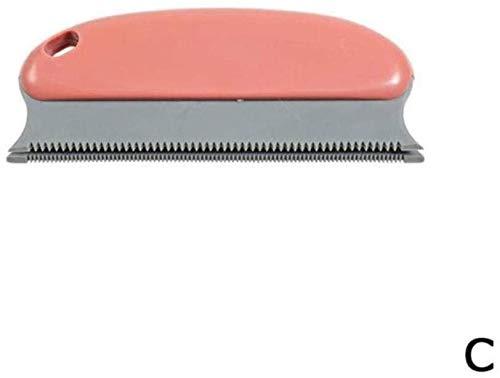 YYhkeby Pet Schaber Hund Haarbürste kurz Lange Haare Fell vergießen Entfernung Katzen- und Hundehaarbürste Schönheit Werkzeuge Haustier Hund liefert, B Jialele (Color : C)
