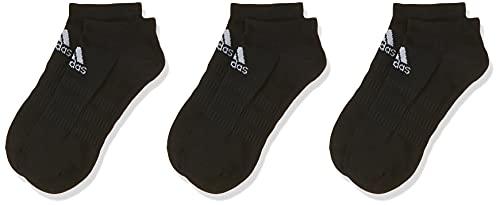 adidas Herren Light Low 3PP Socken, Black, M