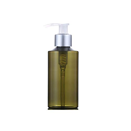 Recargable Para Conditio Botella de PET bomba de emulsión Champú Hidratante 100ml empaquetado cosmético de la botella (Color : Green)