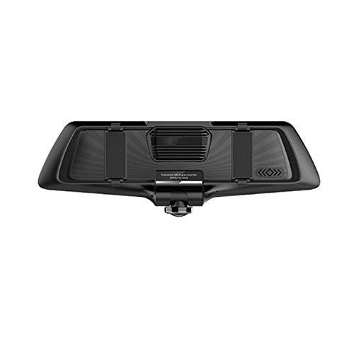 El Dashcam 360 Panorama HD 1080p Doble Grabado De 5 Pulgadas Pantalla Táctil Inteligente Espejo Retrovisor 5 Pulgadas
