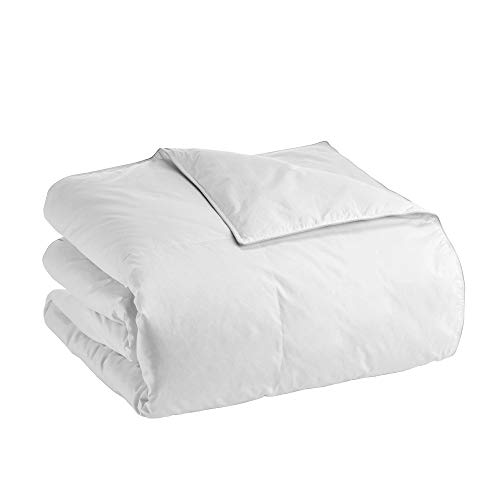 Claritin Ultimate Allergen Barrier ClearLoft White Goose Down All-Season Comforter (Twin, White)