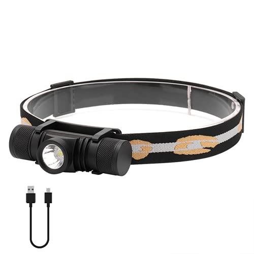 30000 LUMENS XML2 LED FIGURO LIGHT USB Faro recargable Utilice 18650 Batería para el cabezal de pesca LightlightRemovable Footlights