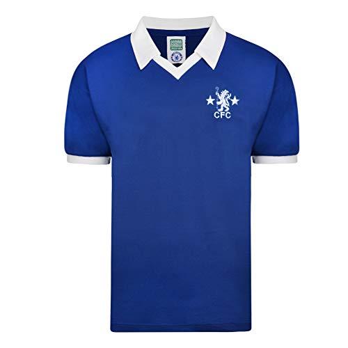 Chelsea 1978 Retro Fußballtrikot, Herren, m